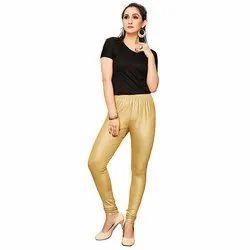 Jelite Golden Shimmer Churidar Leggings