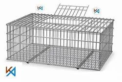 Steel Poultry Cage for Chicken Lifting and Transportation
