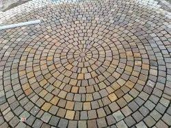 Mix Brown Sandstone Cobbles