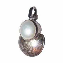 Pearl Moon Pendant