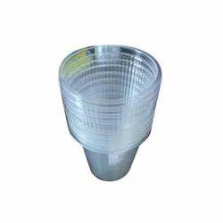 Transparent Plain 180 Ml Disposable Plastic Water Glass