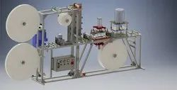 Fully Automatic Sanitary Pad Making Machine