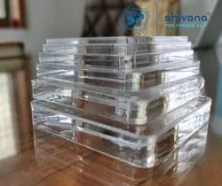 Shivana Polymers Transparent Acrylic Sheets, Thickness: 2mm to 10mm