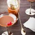Golden Teardrop Bar Spoon