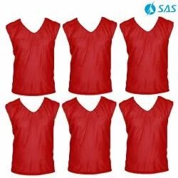 Football Training Bibs - Red