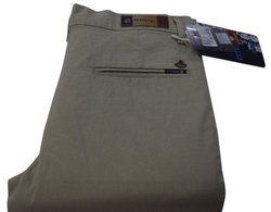 Slim Fit Plain Mens Formal Cotton Trouser, Machine wash, Size: 30