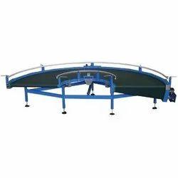 RADHEIoT Rubber Curve Conveyor