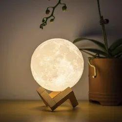3 D Moon Lamp