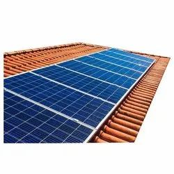 Mounting Structure Off Grid 2 Kw Rooftop Solar Panel, For Commercial
