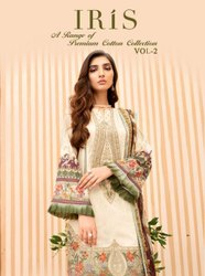 Shree Fabs Iris A Range Of Premium Cotton Collection Suits Catalog