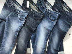 Blue Slim Fit Mens Denim Jeans, Waist Size: 28 To 38 Inch