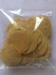 Udad Dal Round Coin Papad / Chips Papad