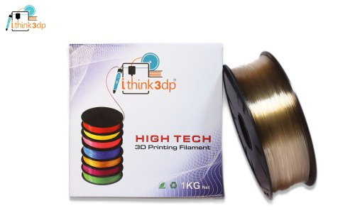 Ithink3dp High Tech 3d Printing Premium Quality Filament. Transparent