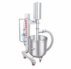 Stainless Steel Cake Batter Lifting Pump, For Dough Transfer, Capacity: 300 Kg Per Hour