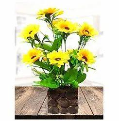 Golden Home Decor Decorative Sun Flower