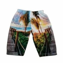 Polyester Sublimation Printed Boys Shorts