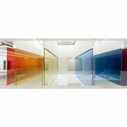 Multicolor Laminated Glass