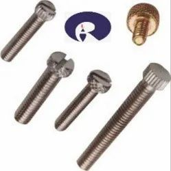 Hexagonal Polished Brass Knurling Screw, For Hardware Fitting, Packaging Type: Box