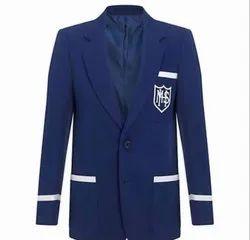 Wollen Formal Blue College Blazer