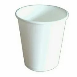 White 150 Ml Plain Paper Cup, For Event, Packet Size: 100 Piece