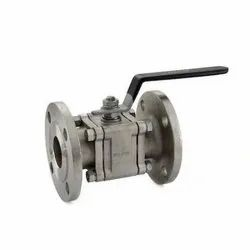 1080B SS Flanged Three Piece Design Ball Valve