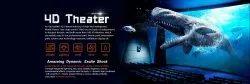VR 4D Theater, For Amusement Park