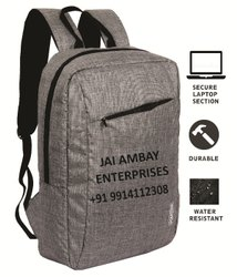 Polyester Black POLESTAR Laptop Backpack