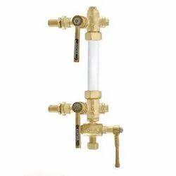 1049 Screwed Bronze Sleeve Packed Water Level Gauge