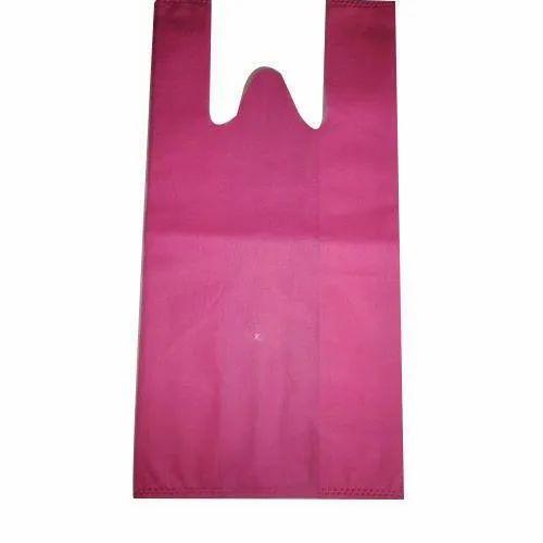 Maroon Non Woven W Cut Bags