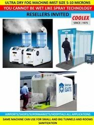 Sanitization And Disinfection Booth Tunnel  And Chamber