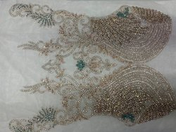 Attractive Beaded Embroidery/ Haute Couture Embroidery