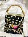Designer Bird Embroidery Ethnic Handbag