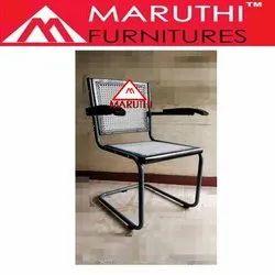 Netted Medium Back Revolving Mesh Chair