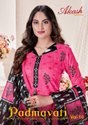 Patiyala Unstitched Akash Creation Padmavati Cotton Suit, Wash Care:machine Wash