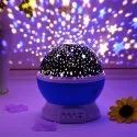 Star Master Dream Rotating Color Changing Projection Lamp