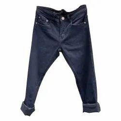 Regular Fit Casual Wear Men Black Denim Jeans, Waist Size: 28-38