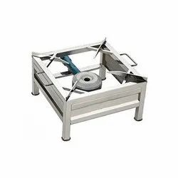 Stainless Steel One Large Burner Commercial Gas Stove