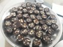 Choco Town Dark, Milk Homemade Almond Chocolate
