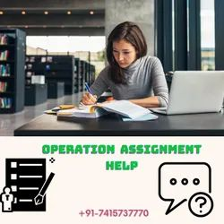 Operation Assignment  Help