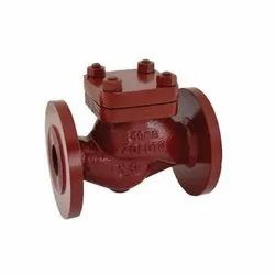 1072 Flanged Cast Iron Horizontal Lift Check Valve