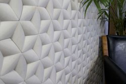 Mint Hexagon Stone Wall Cladding Tile