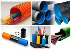 136 Mm Id HDPE Double Wall Corrugated Pipe