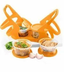Lunch Box Tiffin Box For School Office With 4 Container(200 Ml Each)