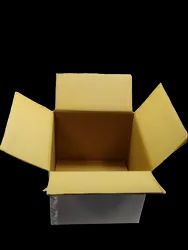 Plain White 12/12/11 Inch 5 Ply Corrugated Box, Weight Holding Capacity (Kg): 11 - 25 Kg