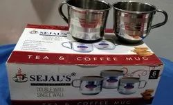 Stainless Steel Single Wall Cup