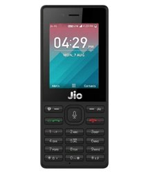 Black Jio Mobile Phone, Memory Size: 4GB