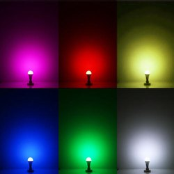 Multicolor Round 8 in 1 Colour LED Light, 220 V, 9 W