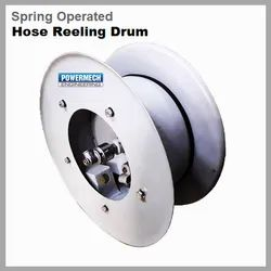 Spring Operated Hose Reeling Drum