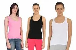 Women Tank Tops Camisole Combo of 3 Pieces