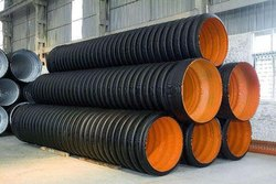 135 Mm Id HDPE Double Wall Corrugated Sewerage Pipe